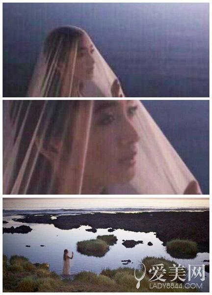 林依晨婚纱照曝光