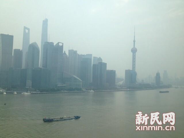 上海遇今秋首个重污染 明起空气逐步转好