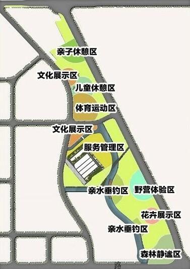 """外高桥开建浦东最大""""绿肺"""" 市民可享开放式体育公园"""