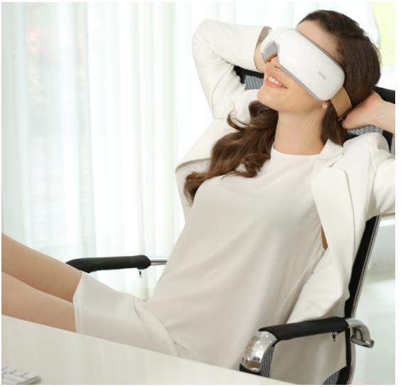 眼睛疲劳七大表现症状,倍轻松眼部按摩器轻松