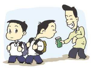 紧急提醒!!浦东一小学发通知:陌生人用零食哄骗学生