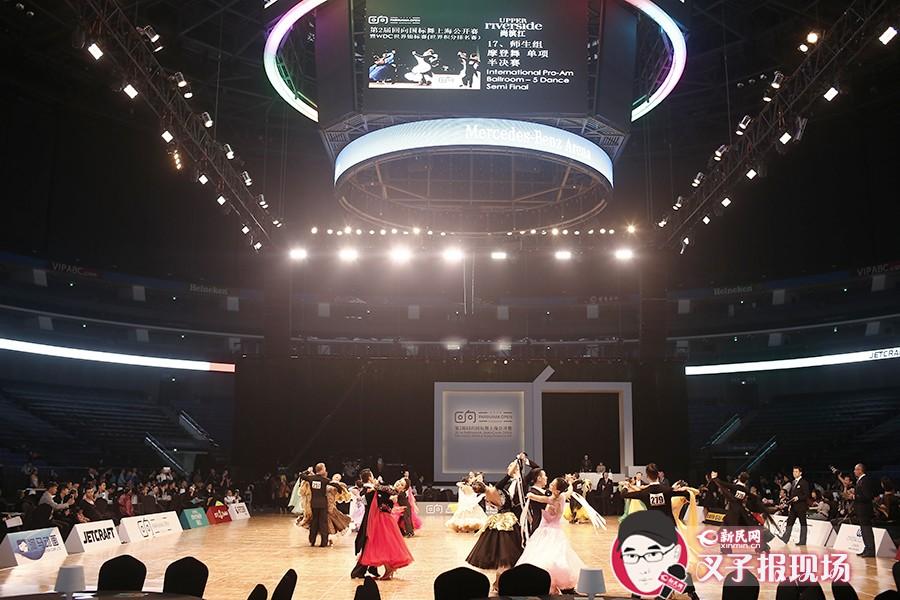 本次大赛也是国内首次由社会组织来承办大型舞蹈活动,目前上海公开赛已被列入为世界积分排名赛。新民网 萧君玮 摄