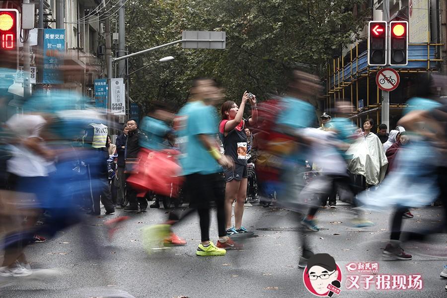 2014上海马拉松今晨开跑