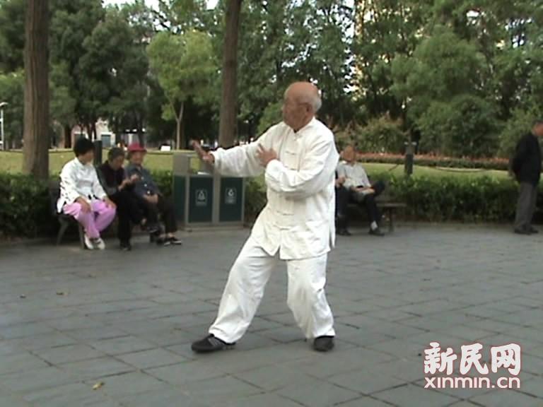 88岁蔡锡祺演练108势常式太极拳