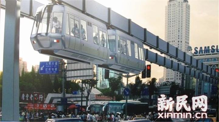 离地10米,车身全透明!上海将引进空中列车!你敢坐吗?
