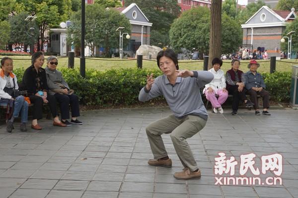 访常式太极拳第四代传人蔡锡祺先生
