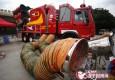"""上海""""119消防周""""启动 高科技设备亮相"""