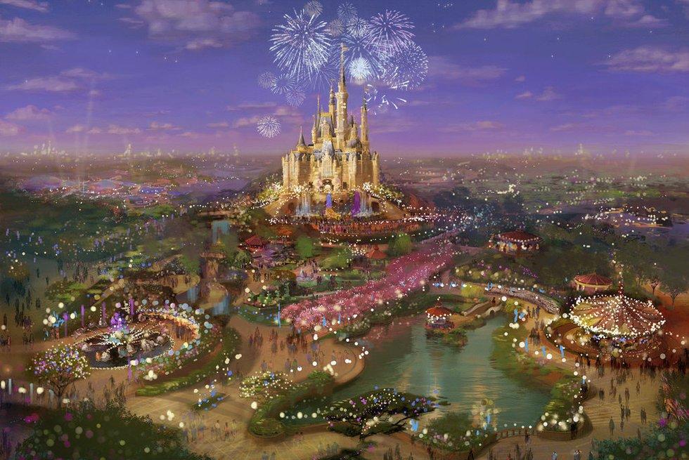 上海迪士尼现雏形 票务方案有望年内确定