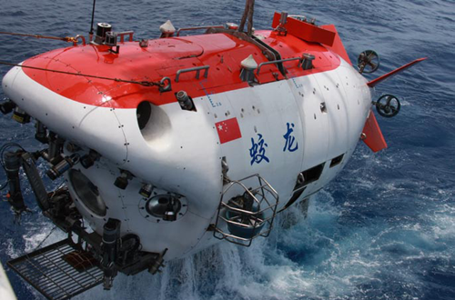中国蛟龙 向深海进发