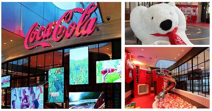 全球首家可口可乐主题餐厅登陆东方明珠