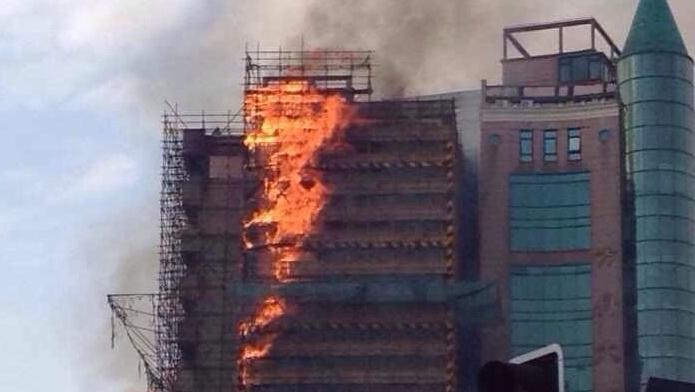 411医院火灾系违章电焊 操作工已拘留