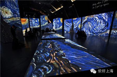 绝美震撼!梵高带着3000幅名画来上海啦!
