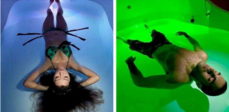 上海首家漂浮馆,体验地球上的失重