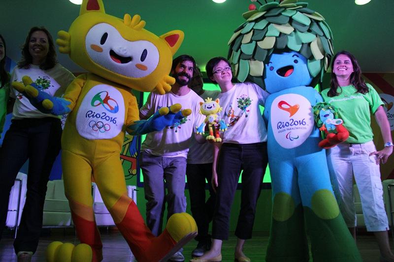 2016里约奥运会吉祥物发布