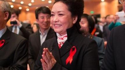 彭丽媛:确保艾滋病患者平等获得医疗权
