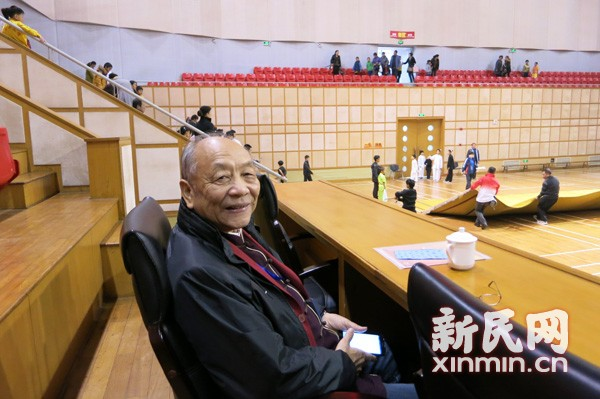 访中国十大武术名教授王培锟先生