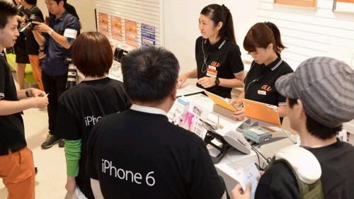 苹果在日本停止网售iPhone 6/6 Plus