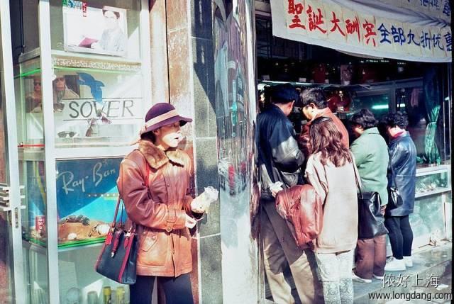 照片 带你看看90年代的上海 好想回到过去