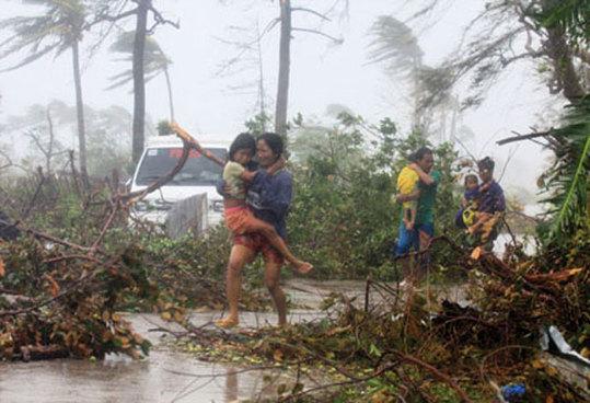 候灾害不断改变菲律宾人口分布状况