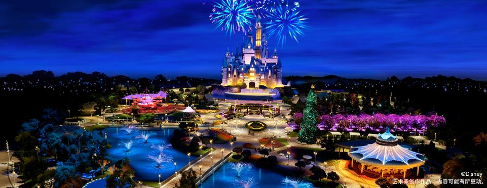 上海迪士尼中心湖年内建成 大客流有方应对