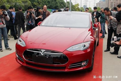 14年天津口岸纯电动汽车进口量激增百倍 特斯拉一家独大高清图片