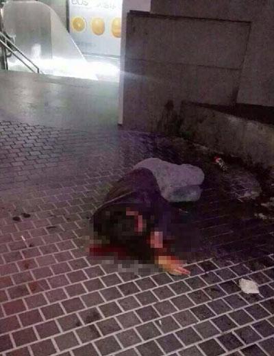 人民广场站一男子被围殴 警方:酒后纠纷