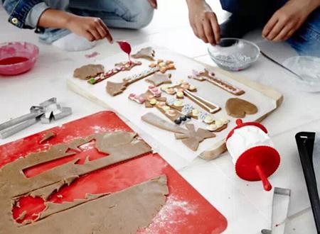 圣诞来啦!一起动手DIY圣诞美食!