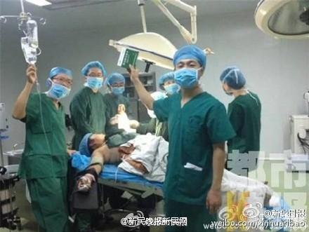 医生手术台上玩自拍 副院长等3人被免