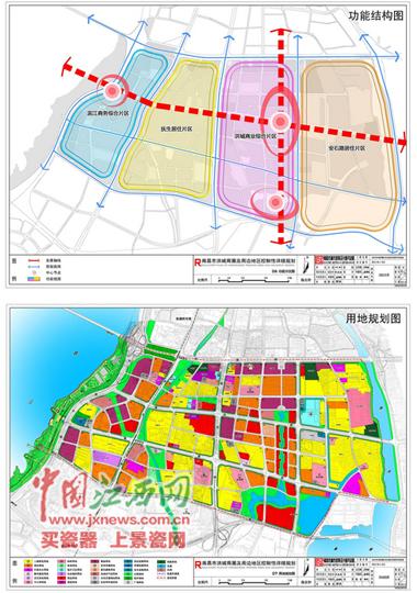 规划常住人口约11万人.-南昌洪城商圈及周边拟设置16所托幼 构建