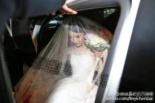 林依晨结婚了入新娘房等宴客 洞房夜不在饭店过