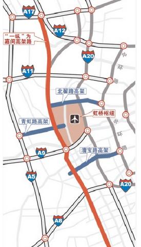 嘉闵高架南北延伸段通车  闵行至虹桥枢纽更快!