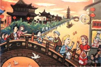 """好有爱!漫画版""""喜欢上海的理由"""""""