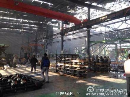 广东佛山工厂气体爆炸已致17死20伤