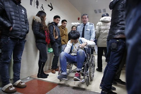 市卫计委:确保所有伤员在三甲医院救治
