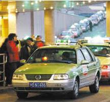上海出租车调价今听证 两方案你更倾向哪个?