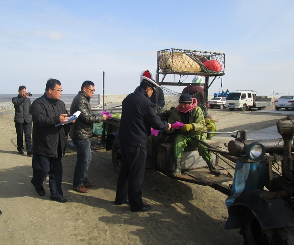 如东县开展紫菜养殖生产安全警示教育活动