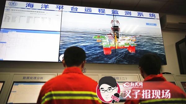 """沪科研团队给油气平台带""""24小时监护仪"""""""