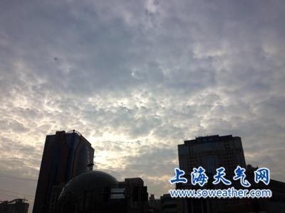 上海今最高10℃ 傍晚到夜里有轻微霾