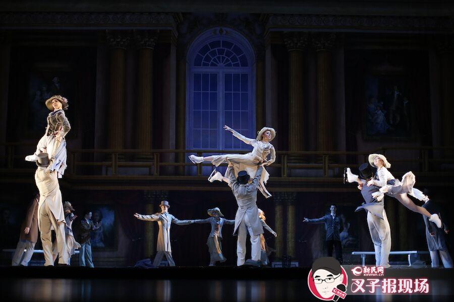 冰上芭蕾舞剧《天鹅湖》于1月28日至30日在上海文化广场献演3场,为观众带来与普通芭蕾不同的视觉体验。新民晚报新民网 萧君玮 摄