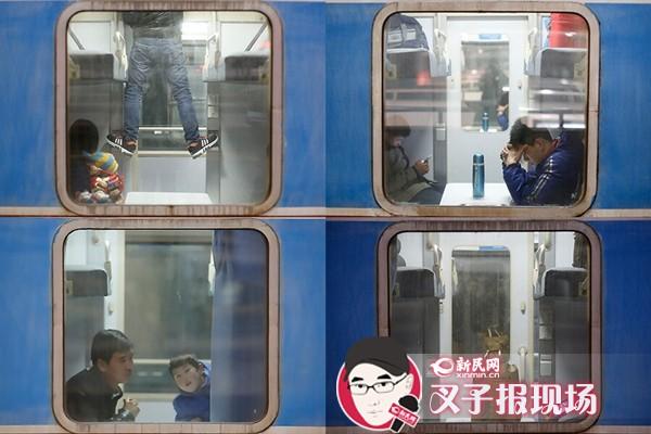 春来候车室 运载万千情 记者直击春运首班列车