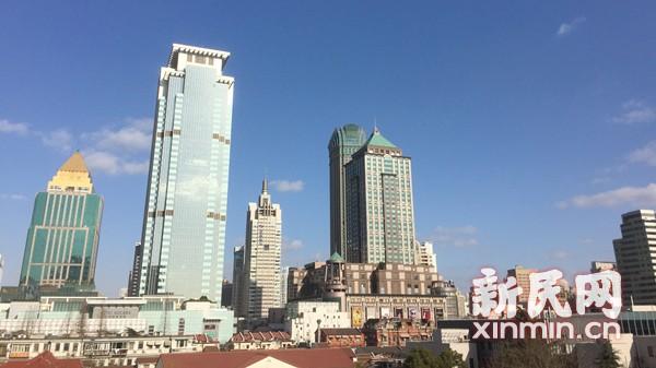 北风飕飕 申城空气清新雾霾散