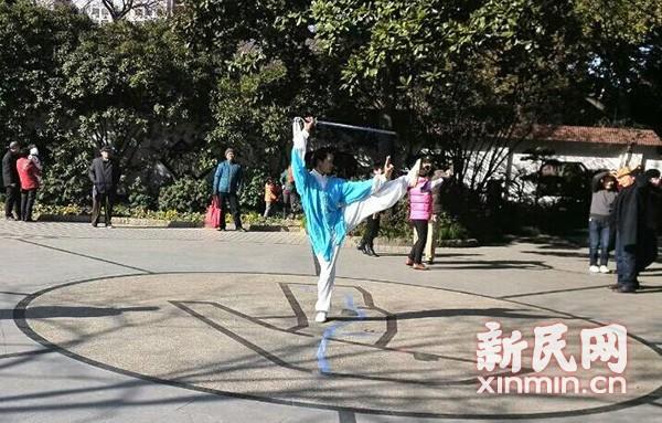 徐汇区武术界举办欢送张福根老师展示