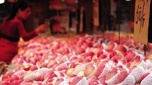 沪春节水果价最高涨三成 苹果成
