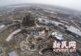 震撼航拍!上海迪士尼城堡初具雏形