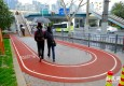 450米健身步道亮相申城闹市
