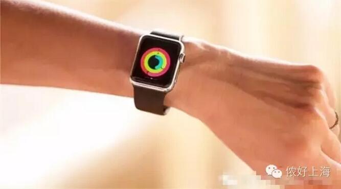 Apple Watch让上海人的生活变了样