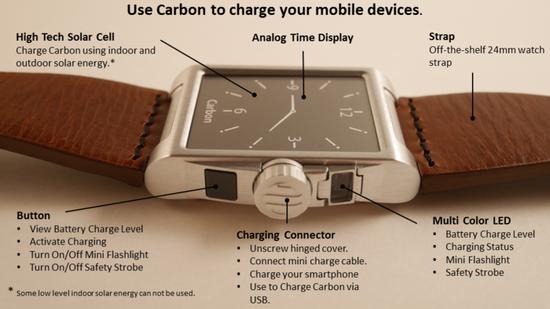 可以为手机充电的智能手表