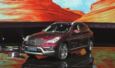 东风英菲尼迪旗下第二款国产车型——全新英菲尼迪QX50正式上市高清图片