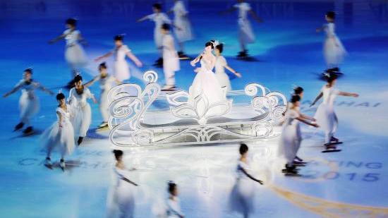 冰上盛宴!提前带你看2015上海花滑世锦赛开幕式