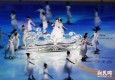 美轮美奂!2015上海花滑世锦赛举行首次带妆彩排